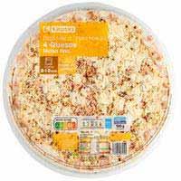 Eroski Pizza maxi 4 quesos 580g