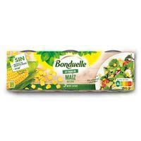 """Bonduelle Maíz en grano """"un toque"""" 3x75g"""