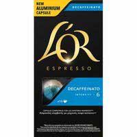 L'Or Café espresso decaffeinato 10 cápsulas