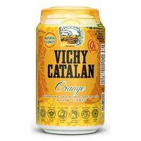 Vichy Catalán naranja lata 33cl