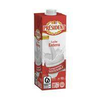 President Leche entera brik 1l