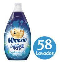 Mimosín Suavizante concentrado intense azul 58 lavados