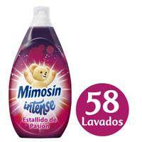 Mimosín Suavizante concentrado intense rosa 58 lavados