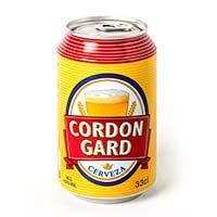 Cerveza CORGON GARD, lata 33 cl
