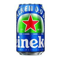 Heineken Cerveza 0,0% lata 33cl