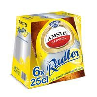 Amstel Radler Cervesa pack 6x25cl
