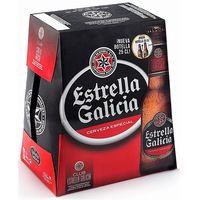 Estrella Galicia Cerveza botella 6x25cl