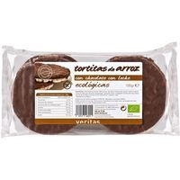 Veritas Tortitas d'arròs amb xocolata amb llet 100g