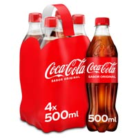 Coca Cola Normal pack 4x50cl