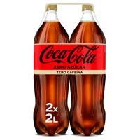 Coca Cola Zero Zero ampolla pack 2x2l