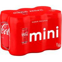 Coca Cola  normal 25cl pack 6