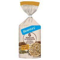 Bicentury Tortitas maíz 6 semillas y cereales 119g