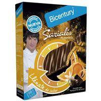 Bicentury Sarialis Barretes xocolata negra i taronja 120g