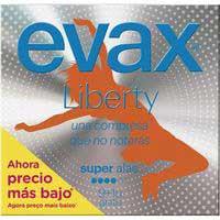 Compresa super con alas EVAX Liberty, paquete 10 uds