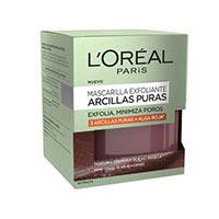 L'Oréal Mascareta exfoliant argiles pures 50ml