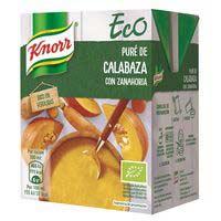 Knorr Eco Puré de carbassa i pastanaga 300ml