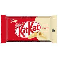 Barritas de chocolate blanco KIT KAT, pack 3x41,5 g
