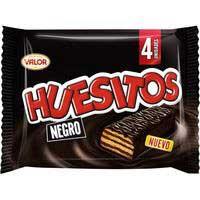 Valor Huesitos chocolate negro 4x20g