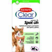 Clear Pipeta repelente gato 3u
