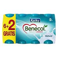 Iogurt colestrol beure natural KAIKUKOL 8x65cl