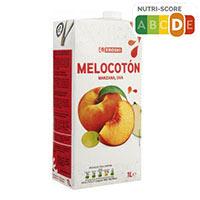 Eroski Zumo de melocotón manzana uva 1l