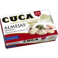 Cloïsses Cuca 16/22 120 g.