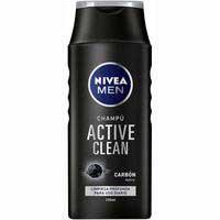 Nivea Men Champú active clean carbón 250ml