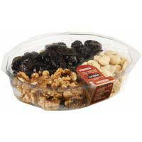 Assortiment de fruita seca especial EROSKI, terrina 300 g