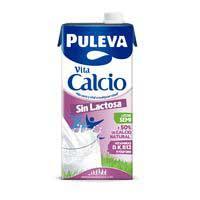 Puleva Leche sin lactosa con calcio semidesnatada 1l