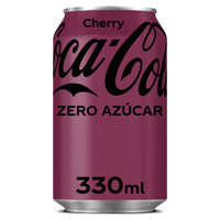 Coca Cola Zero cherry lata 33cl