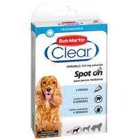 Clear Perro mediano pipeta Fipronil 2u