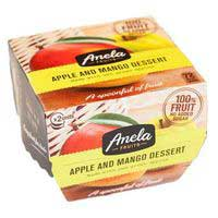 Anela Postre manzana-mango 2x100g