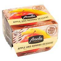 Anela Postre manzana- plátano 2x100g