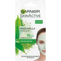 Garnier Skin Active Mascarilla purificante 10 minutos