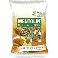 Mentolín Caramel de mel i mentol sense sucre 115g