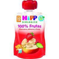 Hipp Pouch fresa plátano manzana 100g
