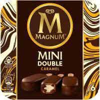 Magnum Double caramelo mini 6u