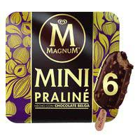 Magnum Praliné chocolate Belga mini 6u
