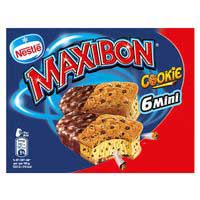 Nestlé Sandwich Maxibon cookie mini 6u