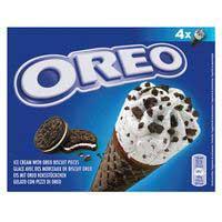 Nestlé Oreo cono con galletas 4u