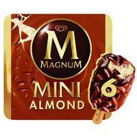 Magnum Almendra helado mini 6u