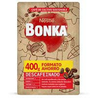 Bonka Cafè mòlt descafeïnat 400g
