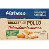 Maheso Nuggets Pollastre Mestre 300g