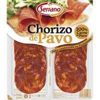 Serrano Chorizo de pavo 2x50g
