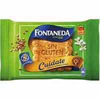 Galleta de trigo sin gluten FONTANEDA Cuidate, paquete 240 g