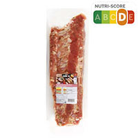 Eroski Costilla cerdo adobada finas hierbas s/gluten aprox. 1kg