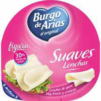 Burgo De A Lonchas suaves light 125g