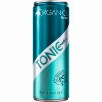 Organics Refresco tónica lata 25cl