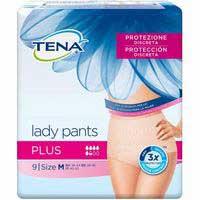 Tena Lady pants M plus 9u