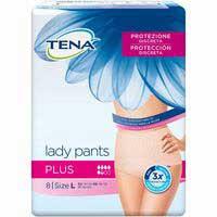 Tena Lady pants L Plus 8u